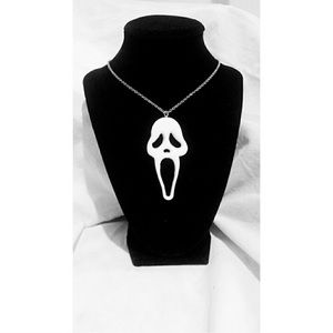 *COMING SOON * Ghostface Necklace